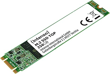 Intenso M.2 SSD SATA III Top Performance 256 GB: Amazon.es ...