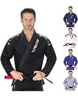 NEW ITEM Elite Sports IBJJF Ultra Light BJJ Brazilian Jiu Jitsu Gi w/ Preshrunk Fabric & Free Belt