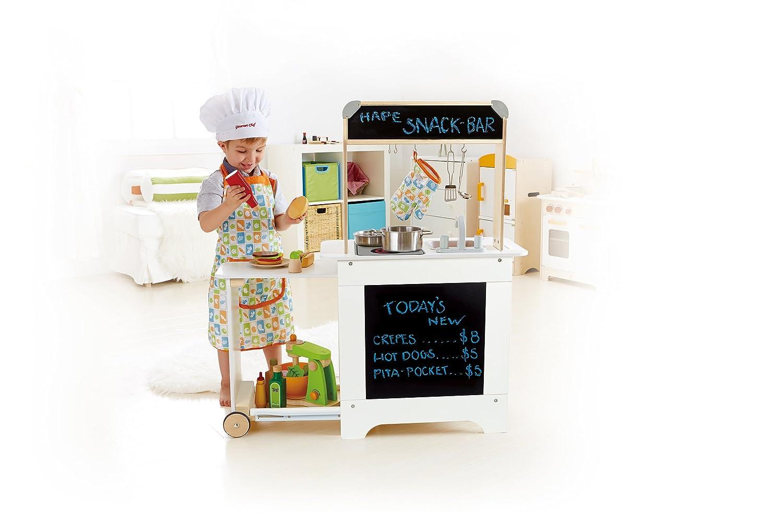 Hape Cook n\' Serve Wooden Kitchen Play Set, Kitchen Playsets ...