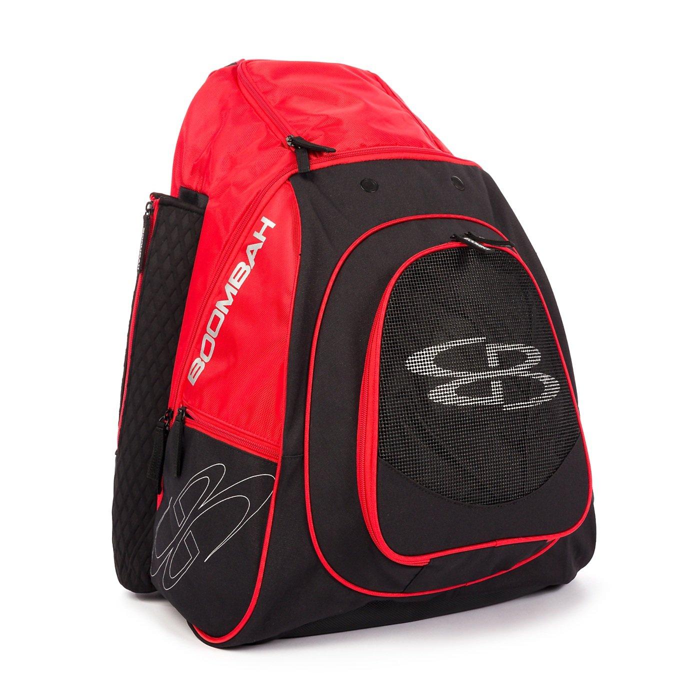 Boombah隊Bat Pack – 9カラーオプション B07BHX48WL ブラック/レッド ブラック/レッド
