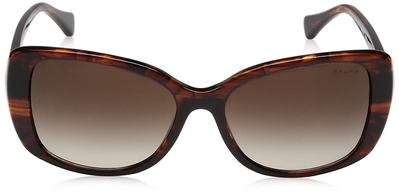 Gafas mujeres color de para y es marrón Ropa Rraph sol Amazon 0ra5223 57 estriado accesorios 162513 rr0Yq