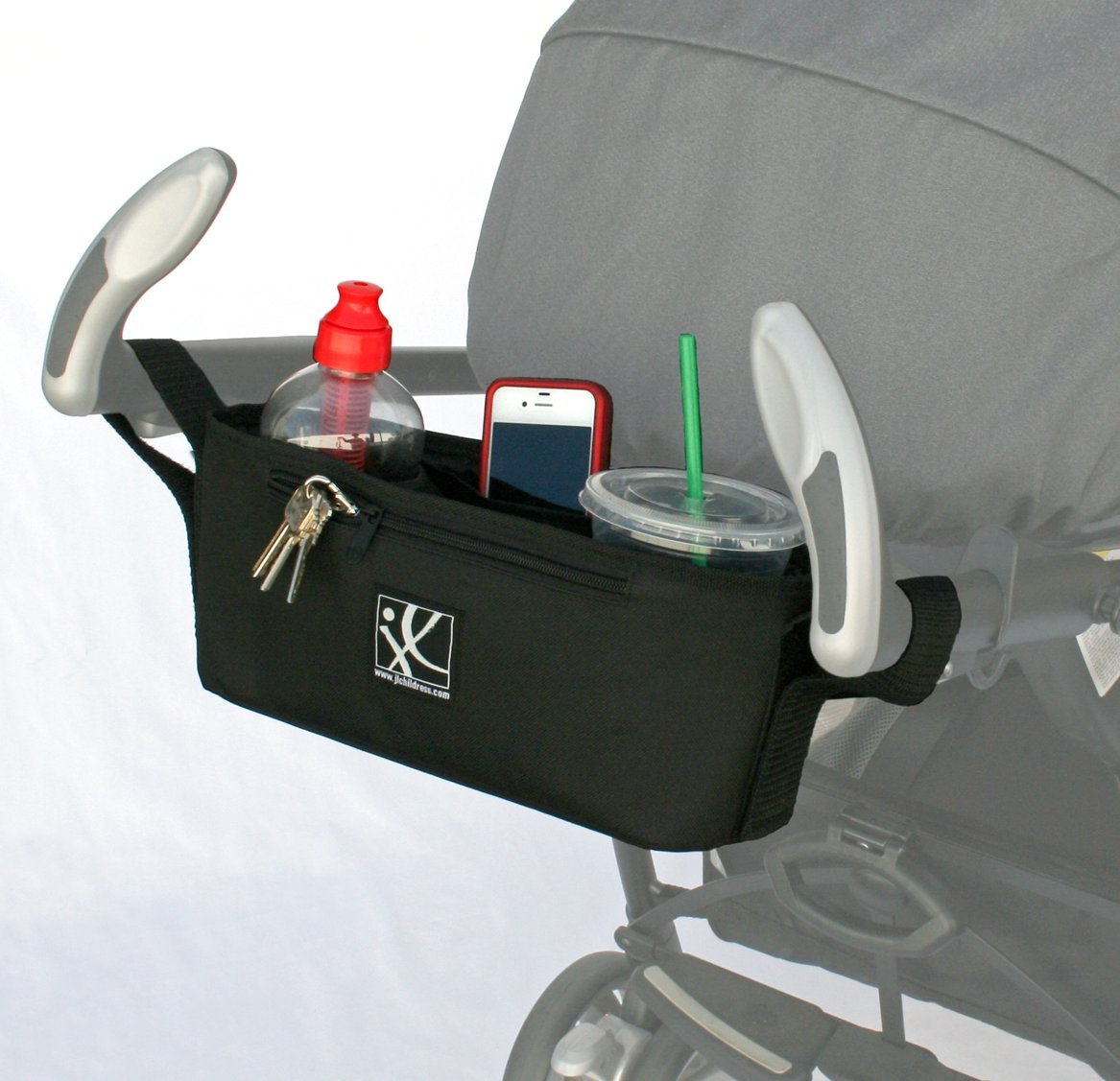 Amazon.com: J.L. Childress Cargo \u0027N Drinks Parent Tray, Black: Baby