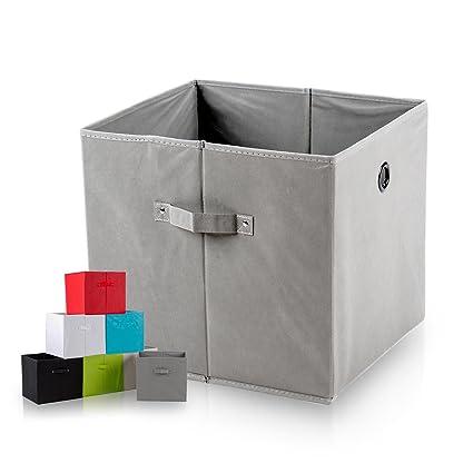 diMio SB1 Faltbox - Caja con asas (extra de profundidad), poliéster, gris