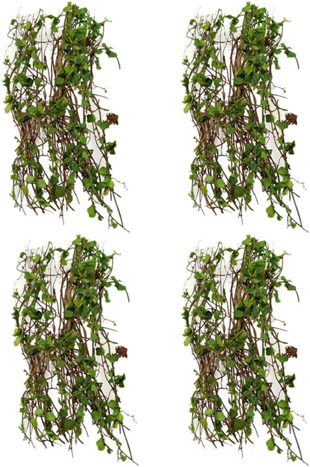 4 Packs Miniatures Vine Plant for Railway Wargame Layout Diorama Dollhouse