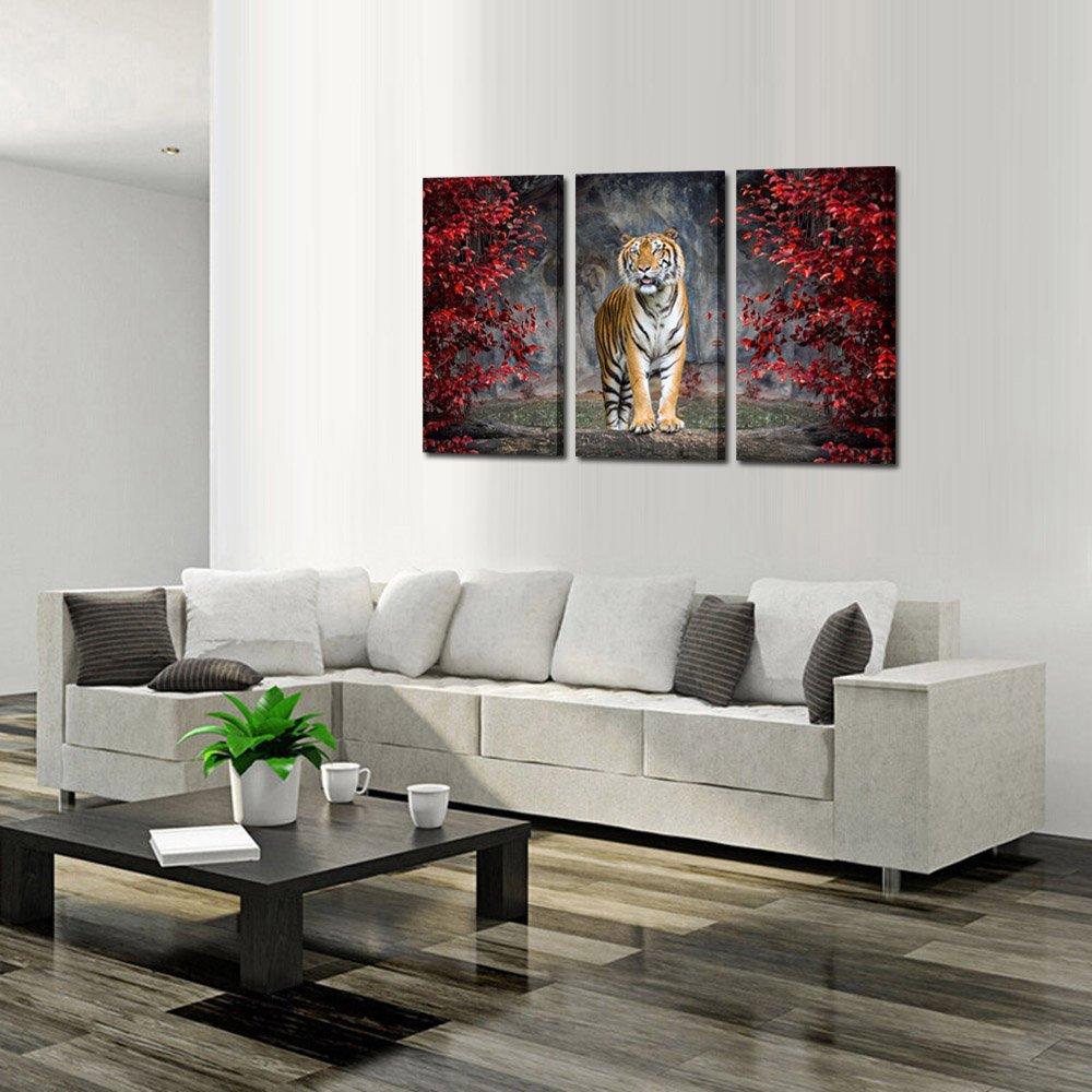Amazon.com: Kreative Arts Large Size 3 Piece Canvas Wall Art ...