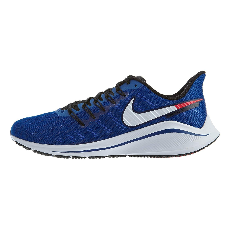MultiCouleure (Indigo Force  Photo bleu  rouge Orbit 400) 48.5 EU Nike Air Zoom Vomero 14, Chaussures d'Athlétisme Homme
