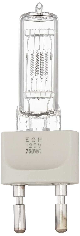 Ushio BC6268 1000282 - EGR - Stage & Studio - T7 - 750W Light Bulb - 120V - G22 Base - 4200K Bulbconnection
