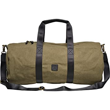 Souve Bag Co Canvas Duffle Bag Olive  Amazon.co.uk  Electronics 2ff4667554bcf