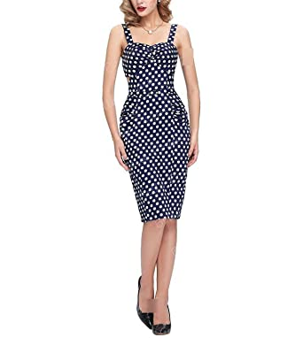 AUUOCC Cheap Short 50s Cocktail Dresses Sexy Polka Dot Vestidos Cotton Bodycon Cocktail Women Coctail Party