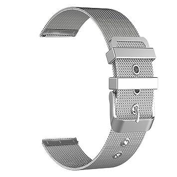 BarRan reg; Nokia Steel HR 36mm Bracelet, 18mm Milanese bande Watch Quick Release bracelet