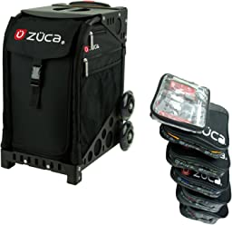 ZUCA Rolling Suitcase - Obsidian Sport Insert Bag with Your Choice of Frame