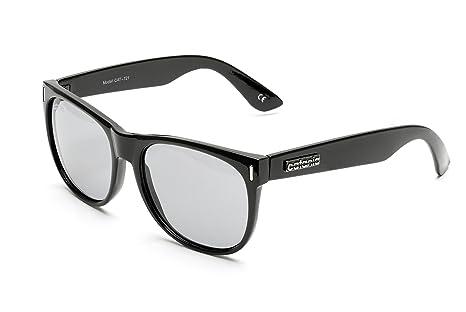 Catania Occhiali Gafas de Sol - Modelo Wayfarer Vintage (UV400) - Unisex Gafas de Sol (Para Hombre y Para Mujer) 7qYVg377U