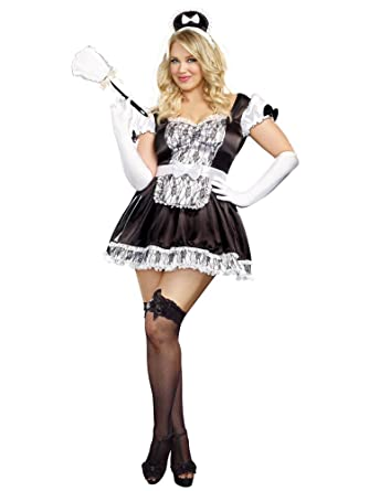 sc 1 st  Amazon.com & Amazon.com: Dreamgirl A9507X Plus Size Maid For You Costume: Clothing