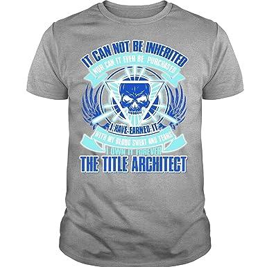 Amazon.com: Regalo para camiseta de Arquitecto T, no puede ...