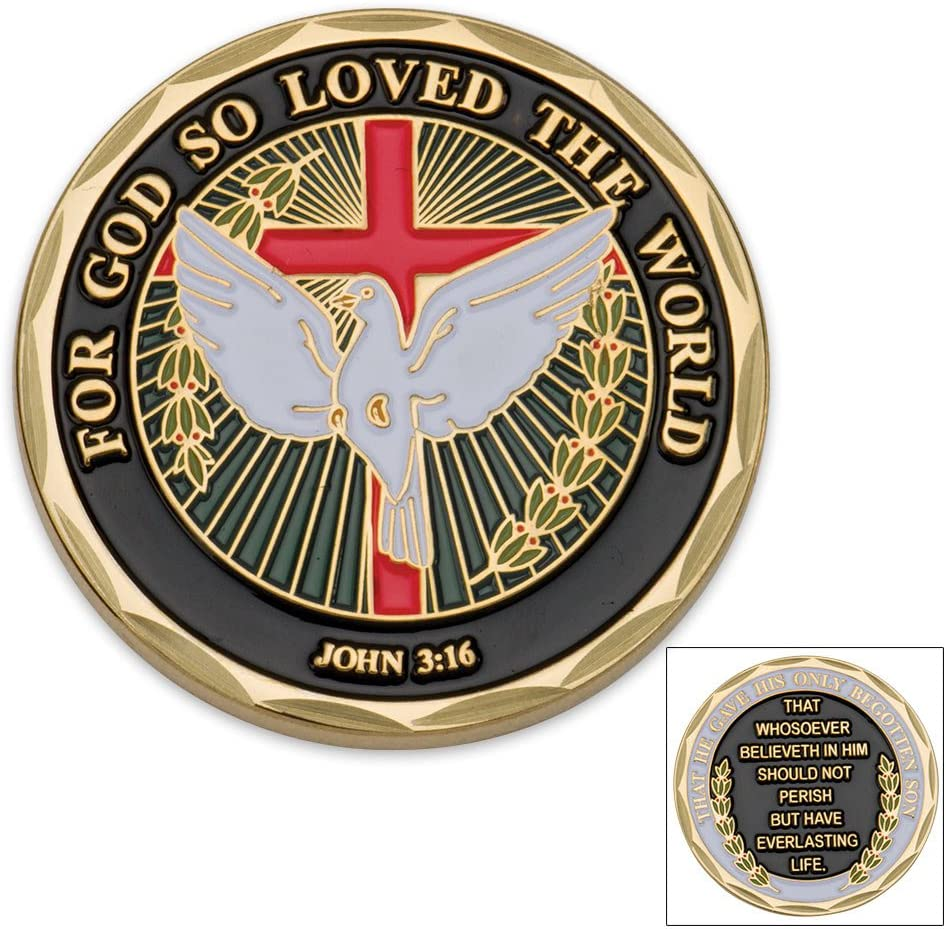 Armor Of God Challenge Coin Collectable Good Luck Gift