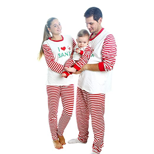f45c873cd8 Image Unavailable. Image not available for. Color  Daxin Christmas Family  Pajamas Set
