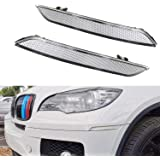NEW Replacement Clear Cover Headlamp Headlight Lens For 2008-2014 BMW E71 X6 All Models xDrive M Sport ActiveHybrid