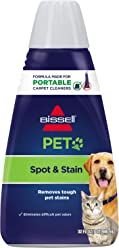 BISSELL 2X Pet Stain & Odor Portable Machine Formula, 32 ounces, ...