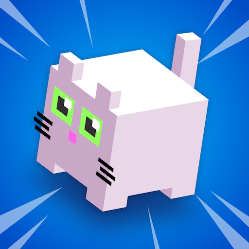 Frappy Cats! Jump in Cute Land - Cat collect mistery box -Trending games for free (no wifi) (Cat Zoo)