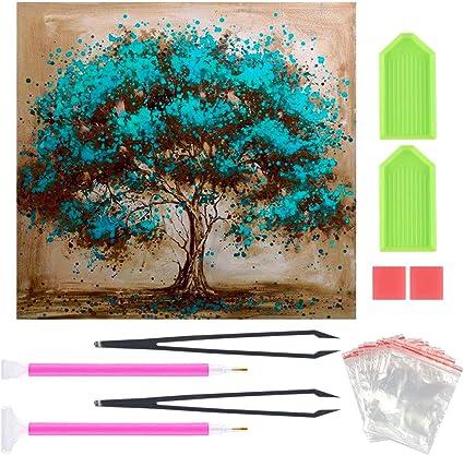Diamond Painting Kits for Adults Crystal Rhinestone Diamond Embroidery Paintings Great for Adult Kids Diamond Number Kits