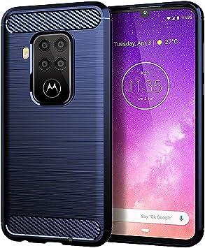 NOKOER Funda para Motorola Moto One Zoom, TPU Delgada Disipacion ...