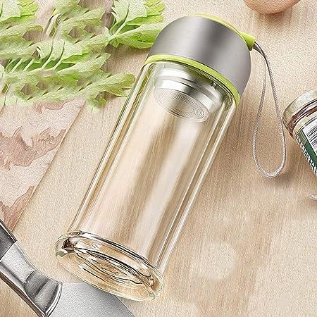 Vasos para té y café Taza Vidrio Botella Termo de Viaje de vacío de los niños