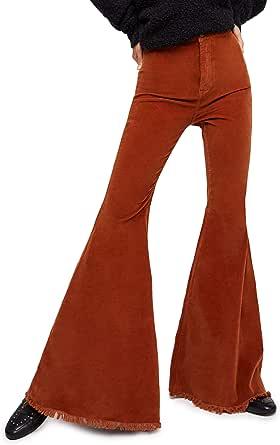 Free People Women's Just Float Corduroy Flare Pants