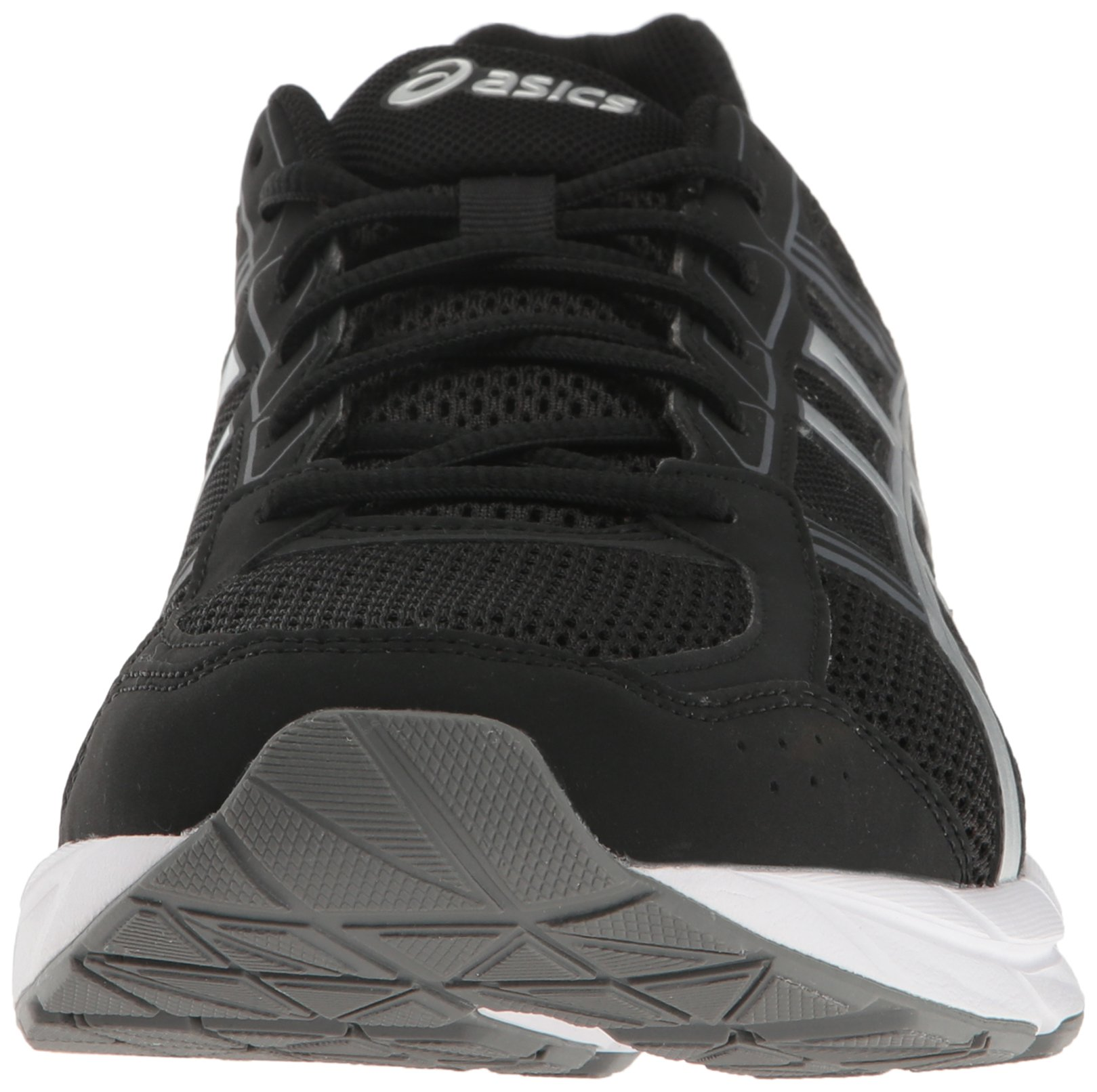 ASICS Men's Gel-Contend 4 Running Shoe, Black/Silver/Carbon, 7.5 M US by ASICS (Image #4)