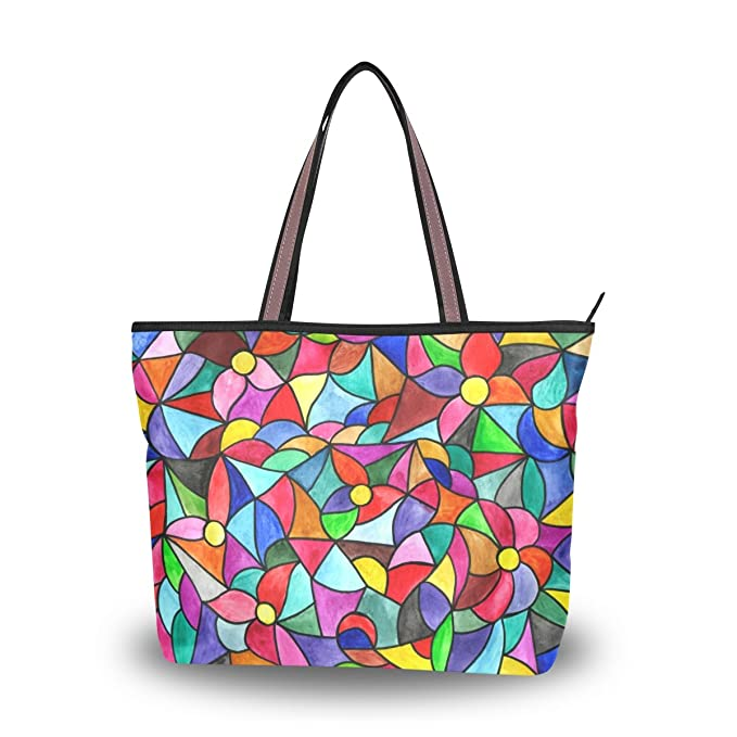 Amazon.com: Bolsas de hombro de cristal inoxidable ...