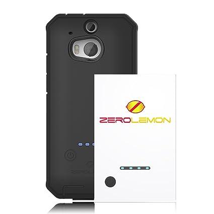 Amazon.com: zerolemon 2100 mAh Extended Battery Caso Combo ...