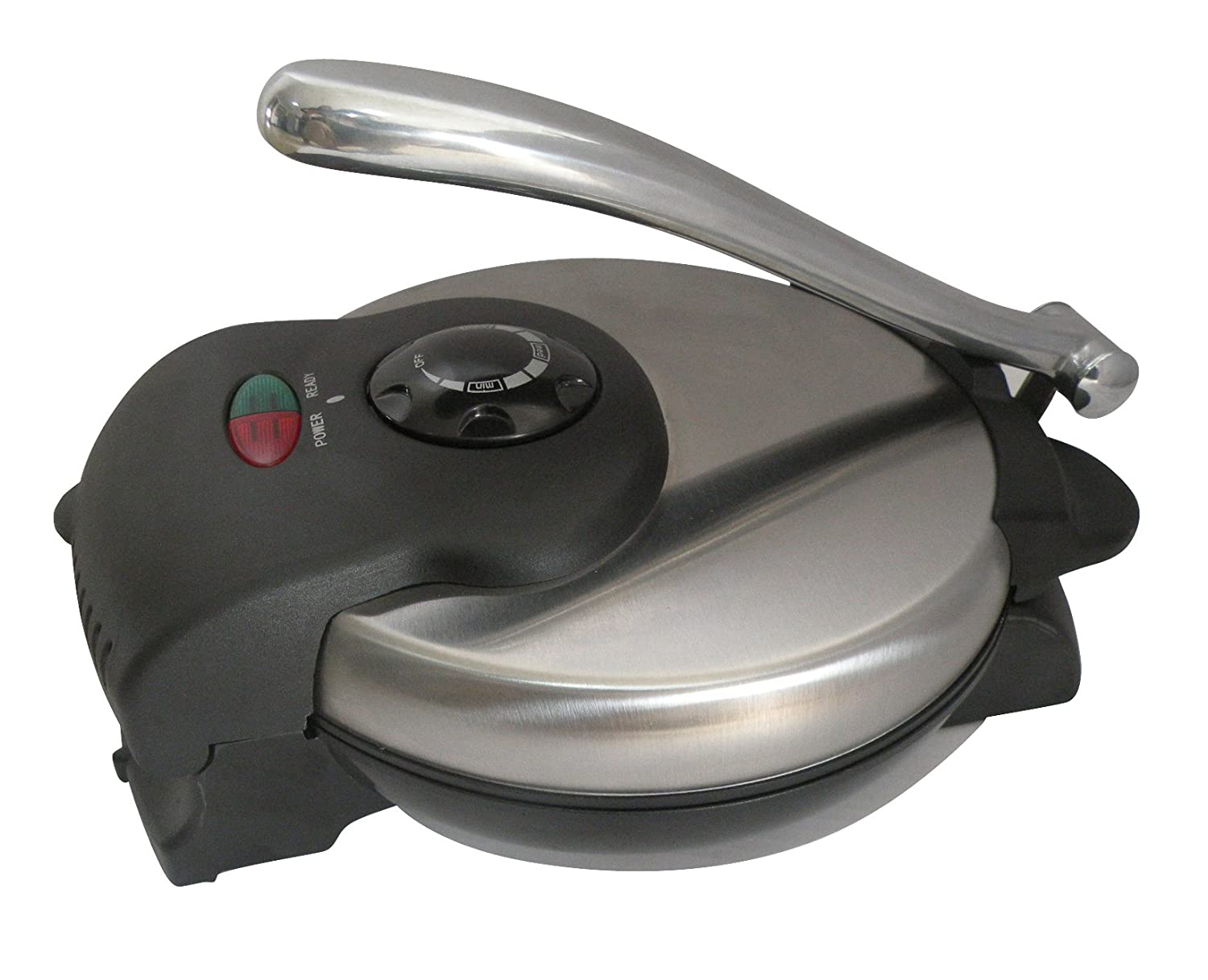 Brentwood TS126 Non-Stick in Stainless Steel Tortilla Maker Brentwood Appliances
