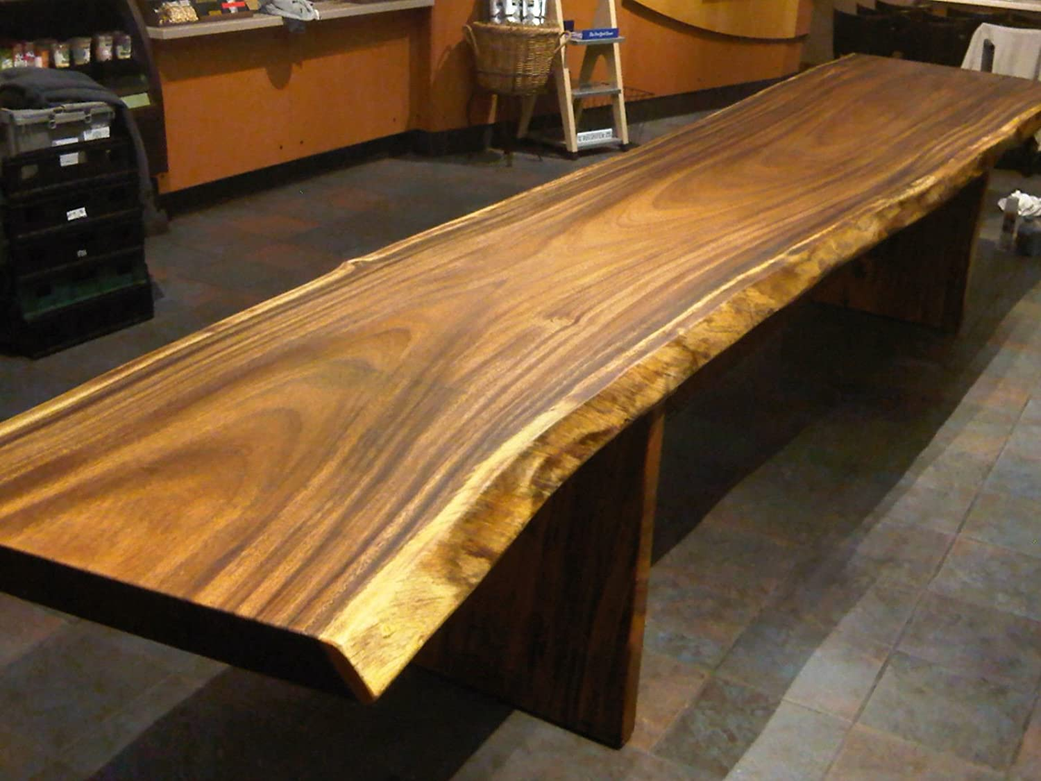 Beautiful Planed and Sanded Monkeypod Wood