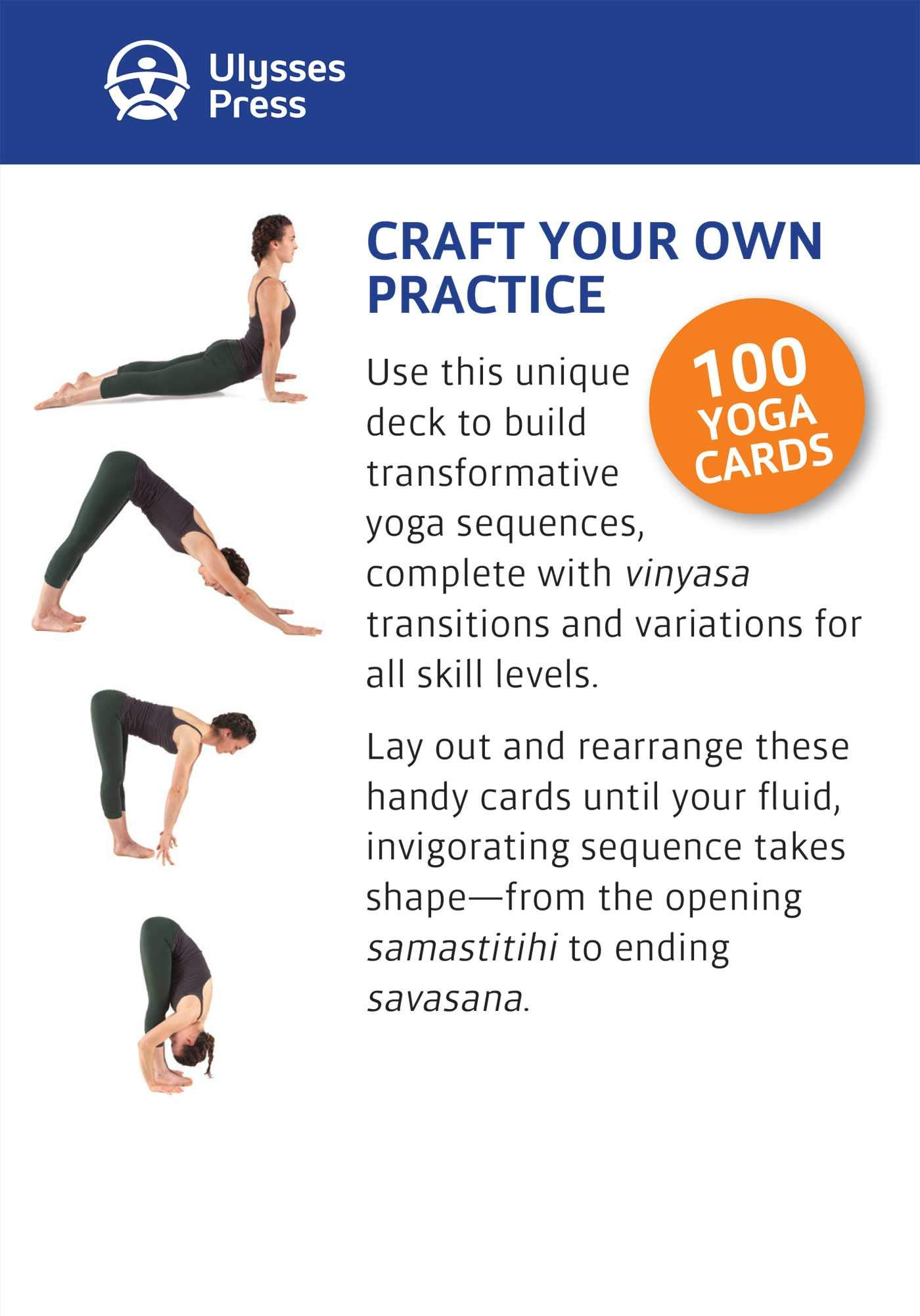 Yoga Sequencing Deck: 100 Cards to Design Practices and ...