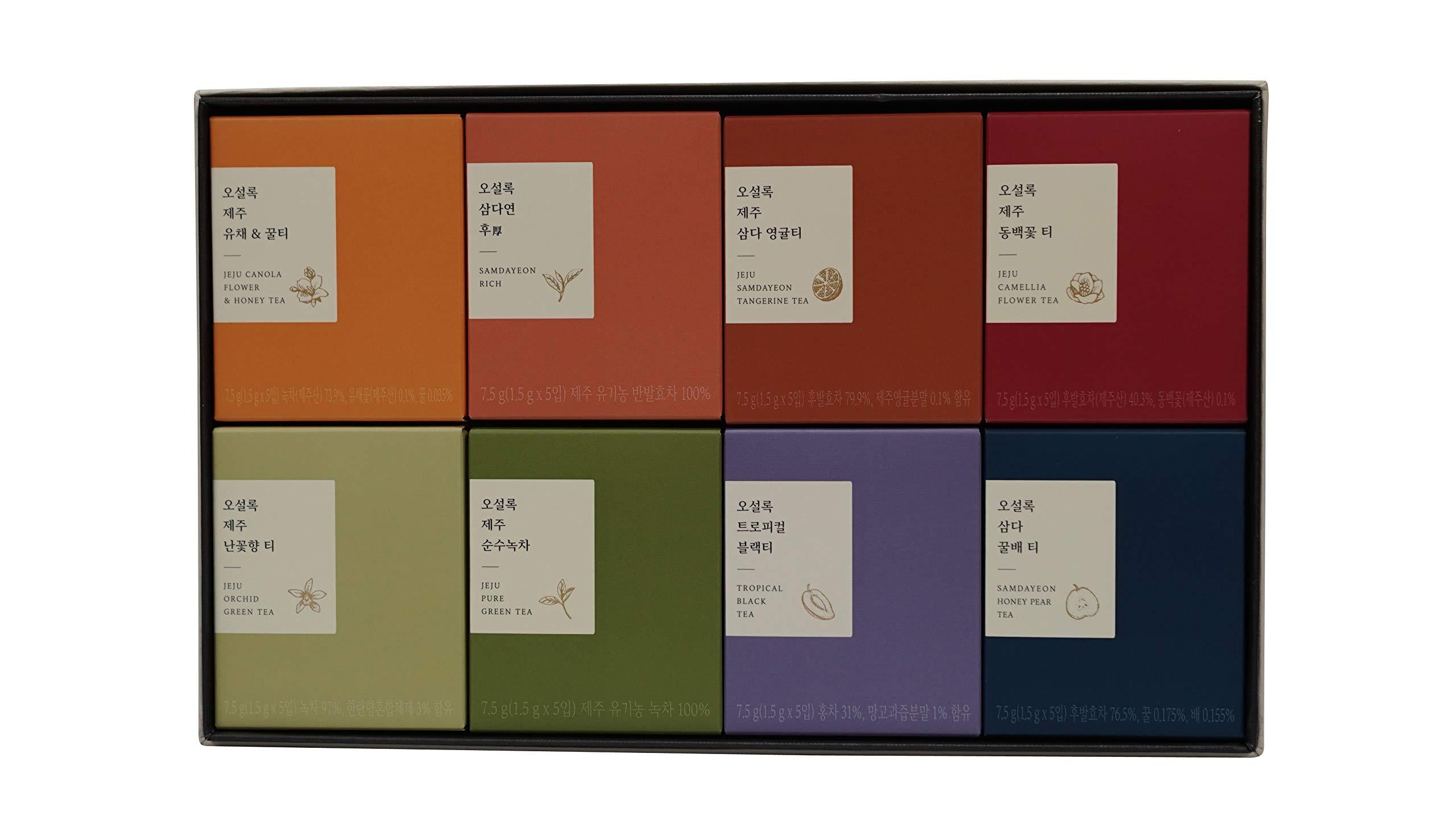 Osulloc PremiumTea Collection, 40 Count
