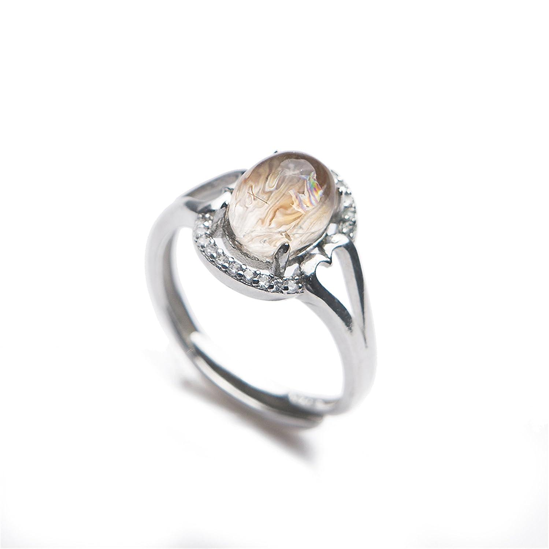 Amazon Com Lizifang Genuine Natural Gold Rutilated Quartz Crystal