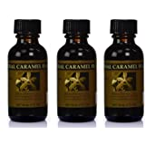 Bakto Flavors Natural Caramel Flavors 1 FL OZ (Pack of 3)