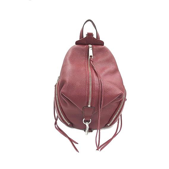 2a0ce3b826 Rebecca Minkoff Julian Medium Leather Backpack Tawny Red Ladies Bag  HF26EPBB25  Amazon.co.uk  Clothing