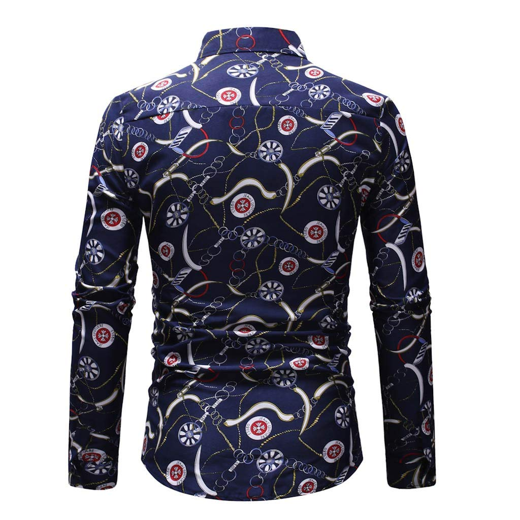 /¡Gran promoci/ón!Camisas de los Hombres Rovinci Oto/ño Invierno Primavera Moda Casual Manga Larga Musculoso S/ólido B/ásico Blusas S/ólidas Tops Pullover