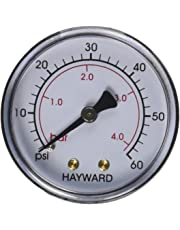 Hayward ECX27091 Back Mount Pressure Gauge Replacement for Select Hayward Filter