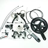 Shimano Ultegra 6800 Group Set Road Bike (Compact 52/36T, 172.5mm, 11 Speed, Short Cage, Braze-On, 11-28T, Chain, New)