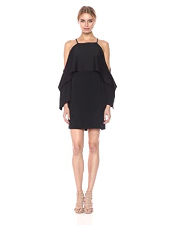 23bf2fc3 Amazon.com: Trina Turk Women's Mia Cold Shoulder Drape Dress: Clothing