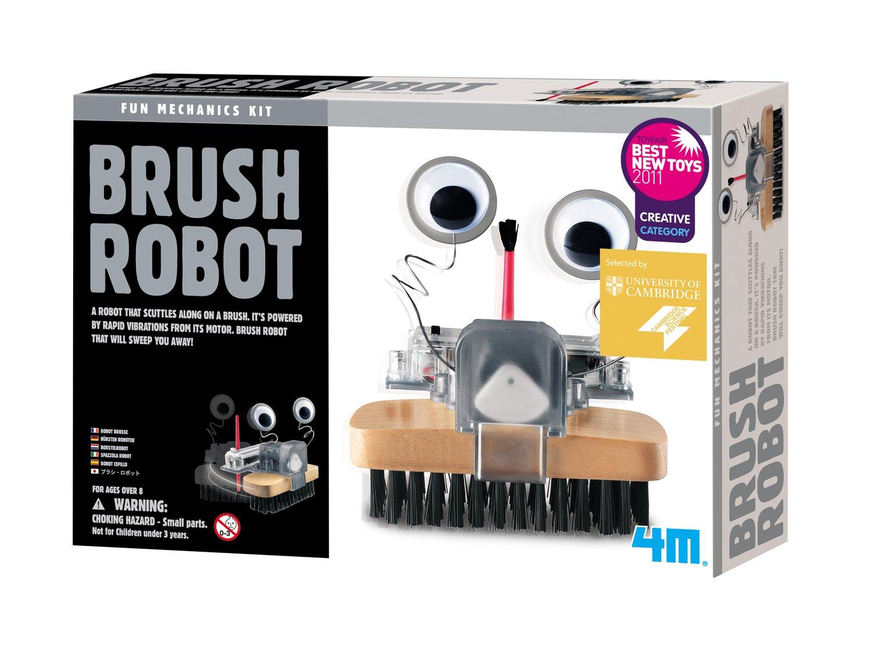 Packaging May Vary 4M Brush Robot