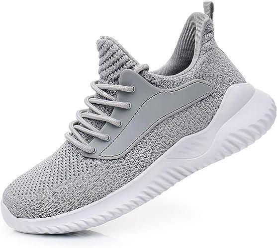 ALLCHAR para hacer deporte antideslizantes Zapatillas deportivas para hombre zapatillas para correr transpirables