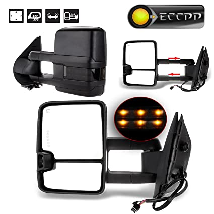 Amazon Com Eccpp Tow Mirrors Replacement Fit For 2008 2013 Chevy