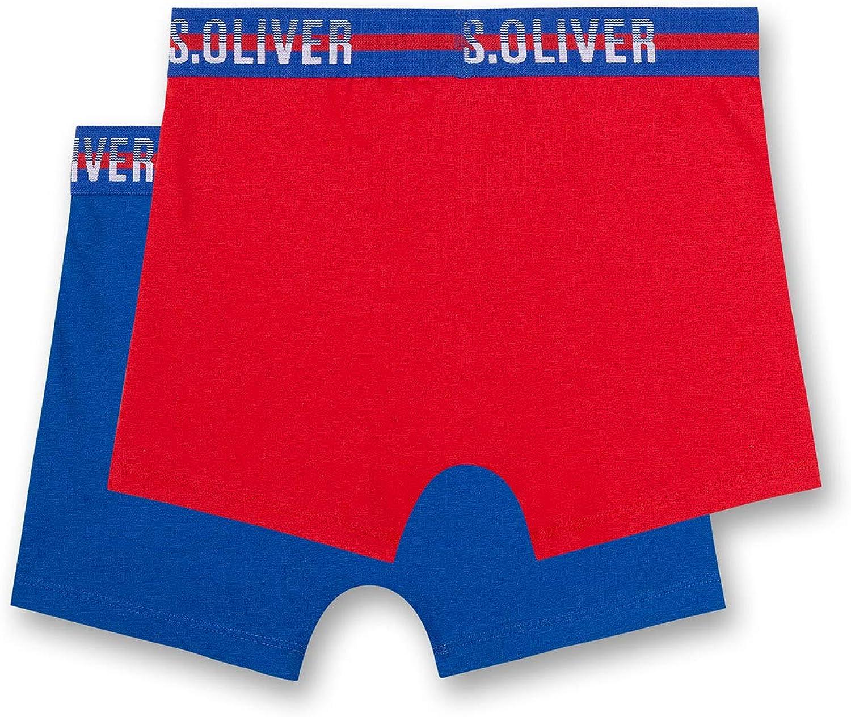 s.Oliver Jungen Shorts im Doppelpack Boxershorts 2er Pack