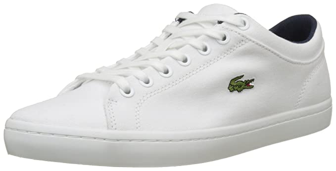 a2c8df51644d Amazon.com  Lacoste Men s Straightset BL 2 Cam Trainers