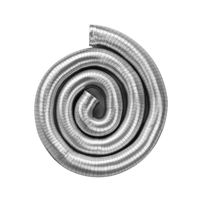 STERR 10 m Manguera flexible de aluminio 200 mm ALD200