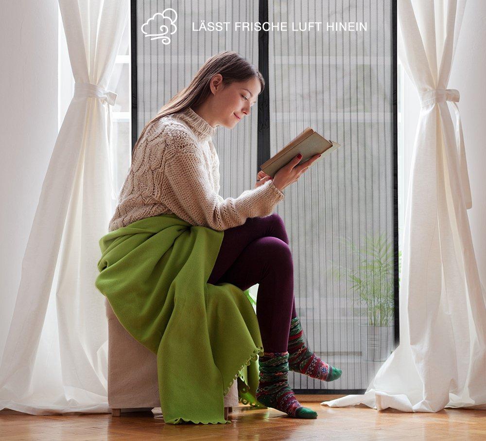 Magnetic Screen Door JERRYBOX Premium Door Curtain 43 /× 87 Fits 41 Door Premium Mesh Screen Curtain for Doorways//Doors//Patio