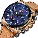 Mens Watches Fashion Stainless Steel Analog Quartz Watch Luxury Brand LIGE Sports Waterproof Watch Men Business Date Watch