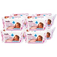 Tollyjoy Unscented Baby Wipes 30s x 8, 0.5 kilograms